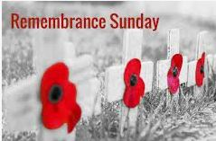 Remembrance Sunday – 10th November 2019