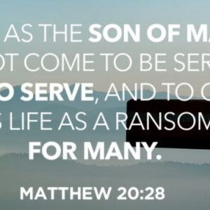 Sunday Sermon – A mother's request – 14th March 2021